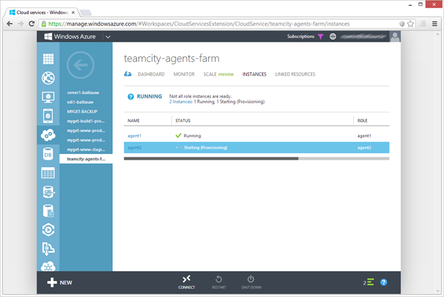 Windows Azure autoscaling in action