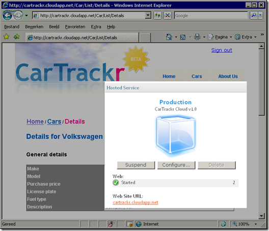 CarTrackr on Azure!