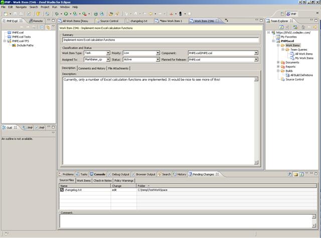 Zend Studio + Teamprise = PHP development with Team