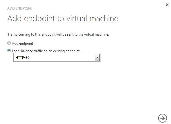 Setting up a webfarm using Windows Azure Virtual Machines