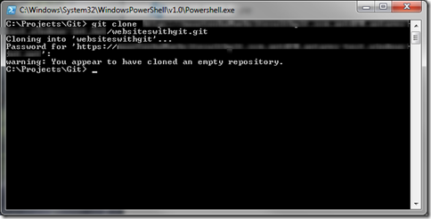 Windows Azure Git Repository Build