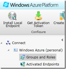 Windows Azure Connect management