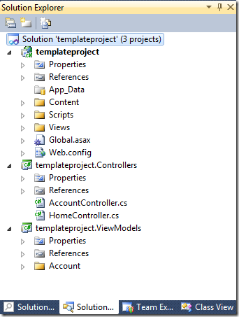 Create new Templify project