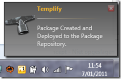 Templify package created
