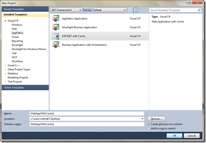 Creating a Windows Azure AppFabric Application