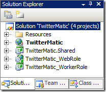 TwitterMatic Visual Studio Solution