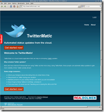 TwitterMatic - Schedule your Twitter updates